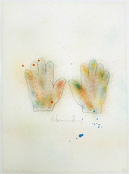 HANDS by Jim Dine