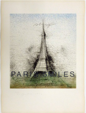 PARIS SMILES by Jim Dine
