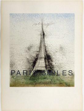 PARIS SMILES by Jim Dine