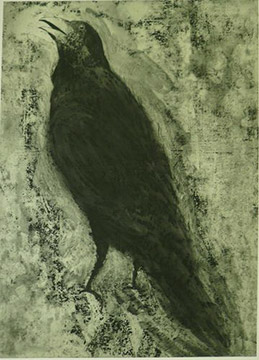 CROW #1 by Jim Dine