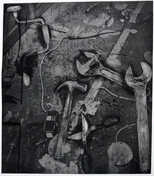 THE TOOLS by Jim Dine