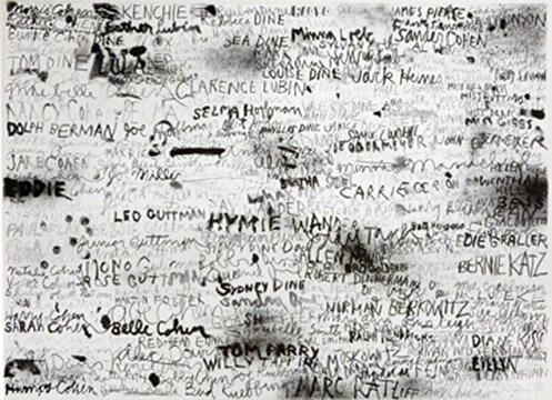 CINCINNATI I by Jim Dine