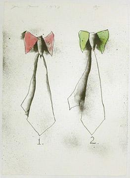 TIES by Jim Dine
