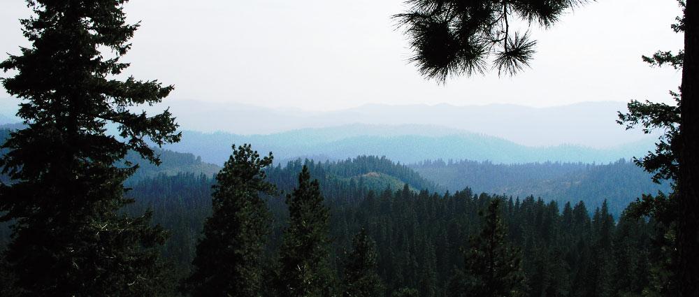Mountains near Colville