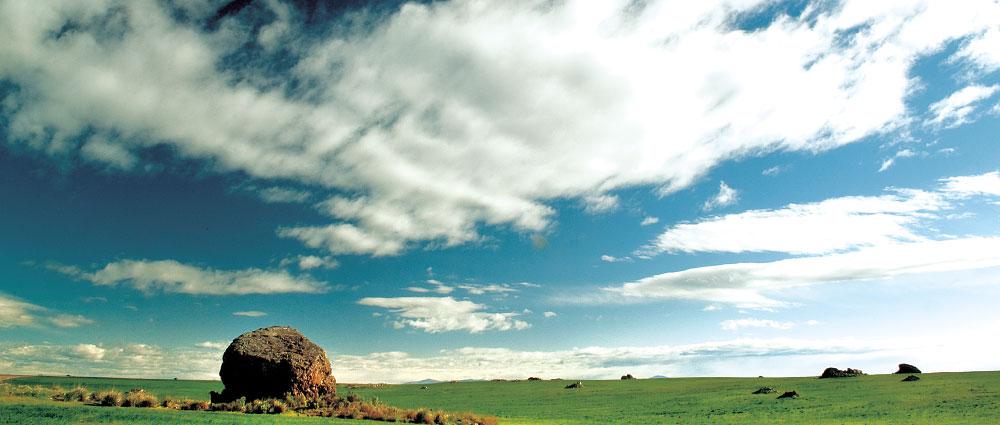 Rock on Waterville Plateau