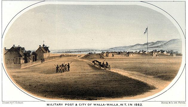 Walla Walla, 1862