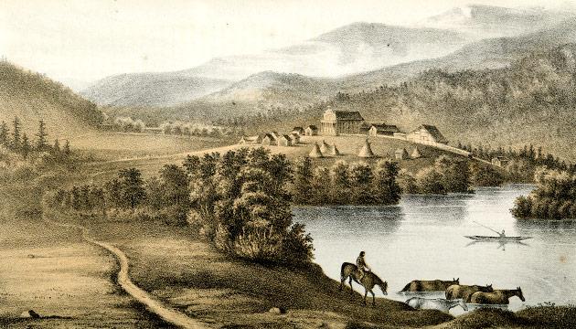 Coeur dAlene Mission, 1859