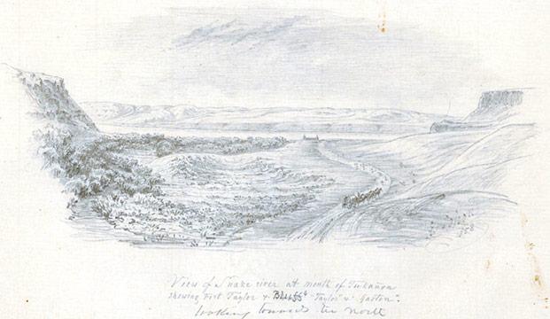 Snake River, 1850s