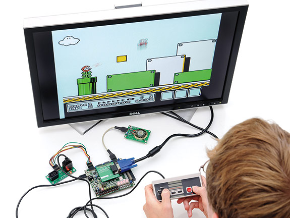 Digilent video game