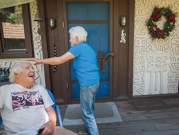Harold and Rosemary Balazs