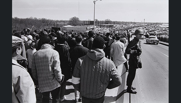 Scenes from the March to Selma, 1965. Photo James H. Barker