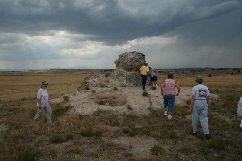 Porter's Rock, Wyoming