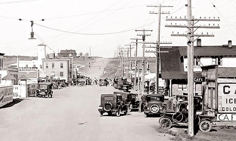 Old Soap Lake Main Street