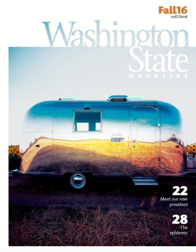 Fall 2016 Washington State Magazine cover