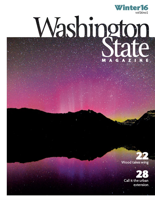 Washington State Magazine Winter 2016 cover