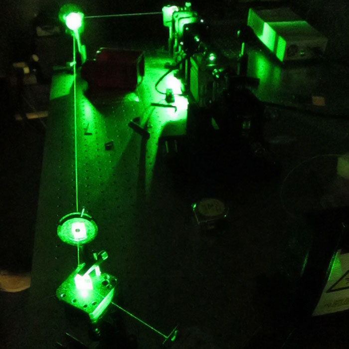 ND: YAG laser crystal
