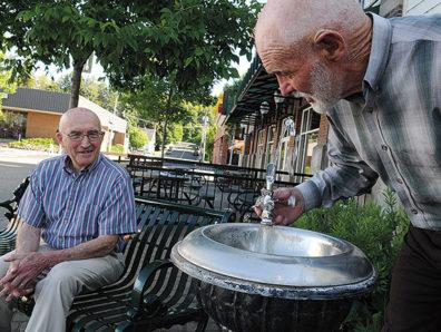 Walt Butcher and Norm Whittlesey. Photo Zach Mazur.