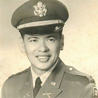 Fred Kamaka in uniform