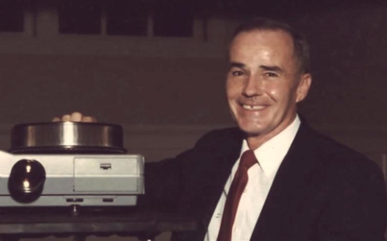 Bob Smawley with slides