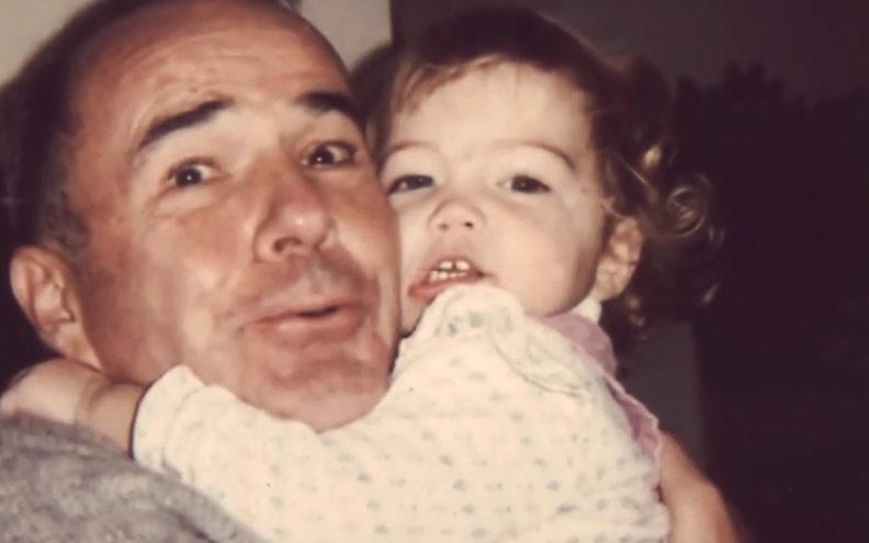 Bob Smawley with baby