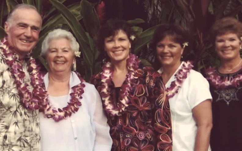 Bob Smawley and family in Hawaii