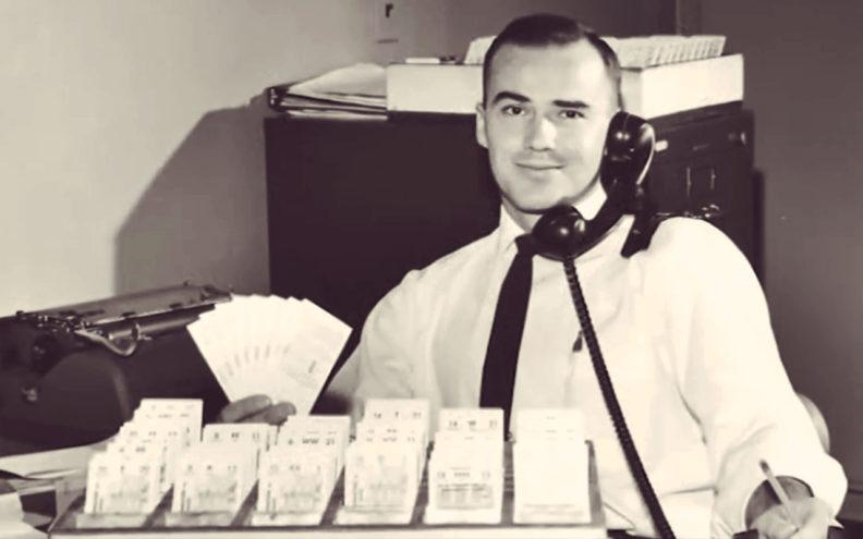 Bob Smawley as WSC athletics ticket manager