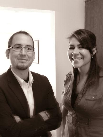 Chad Sanders and Christina Low