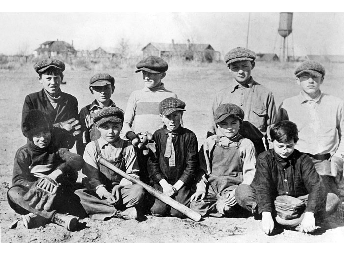 Baseball Team, Hanford, 1913
