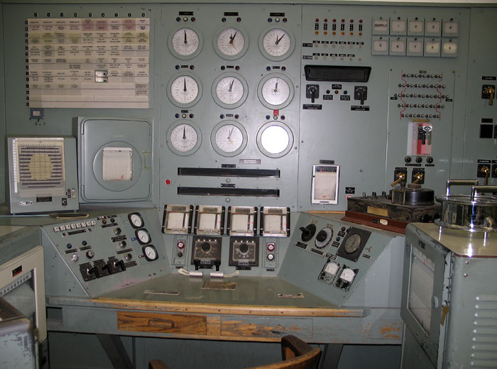 B Reactor Control Room