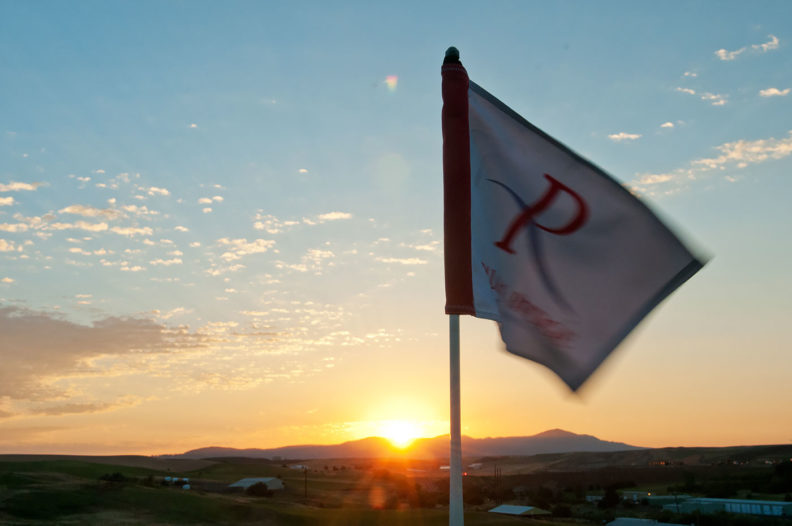 Palouse Ridge flag