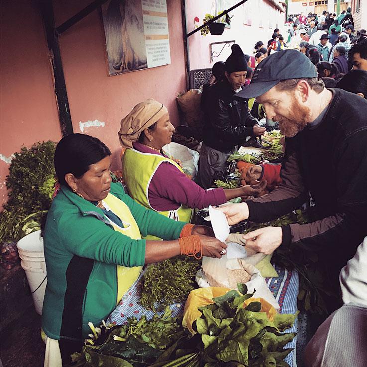 Kevin Murphy in Ecuador