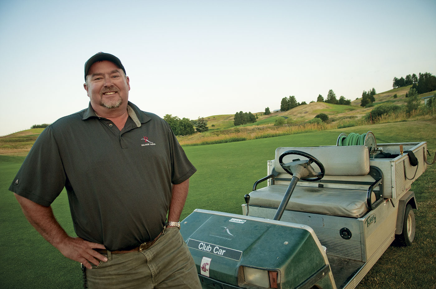 Mike Bednar at Palouse Ridge Golf Club