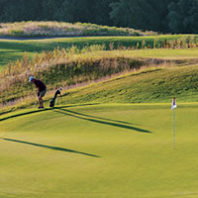 Palouse Ridge Golf Club in morning