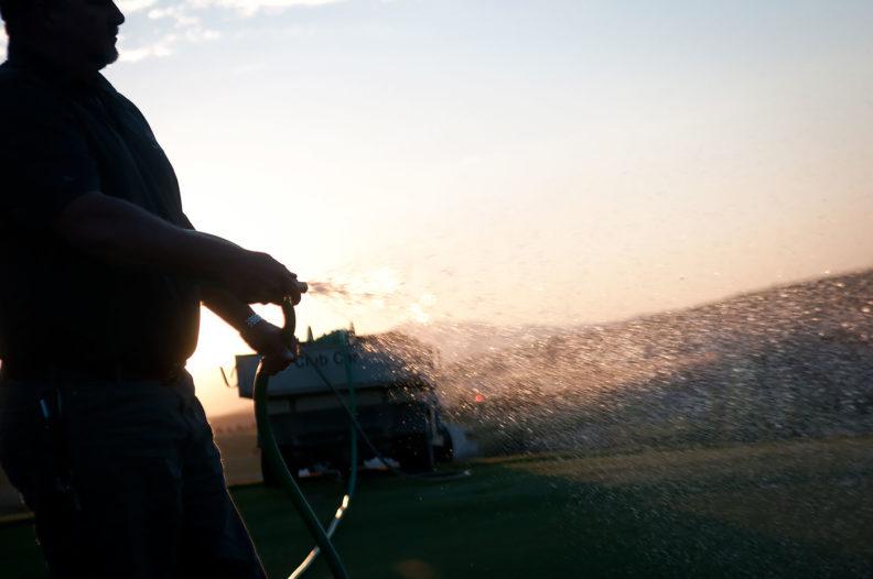 Watering at Palouse Ridge