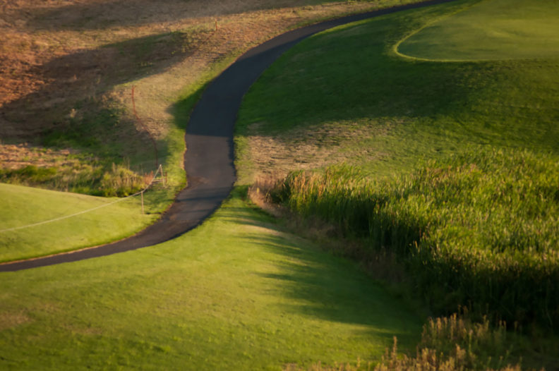 Path at Palouse Ridge