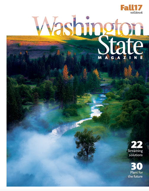 Cover - Washington State Magazine fall 2017