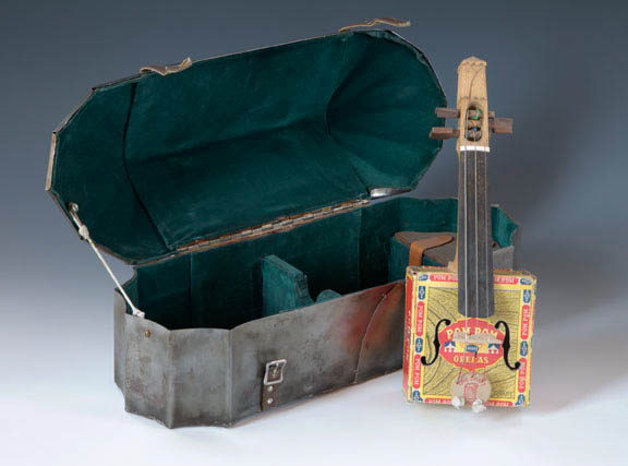 Circus Fiddle by Tim Doebler, mixed media, 1995
