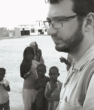 Andrew Stephenson in Senegal - From YouTube (Courtesy Andrew Stephenson)