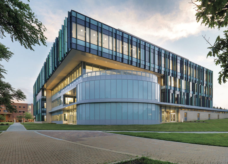 Wright State University's Neuroscience Engineering Collaboration Building