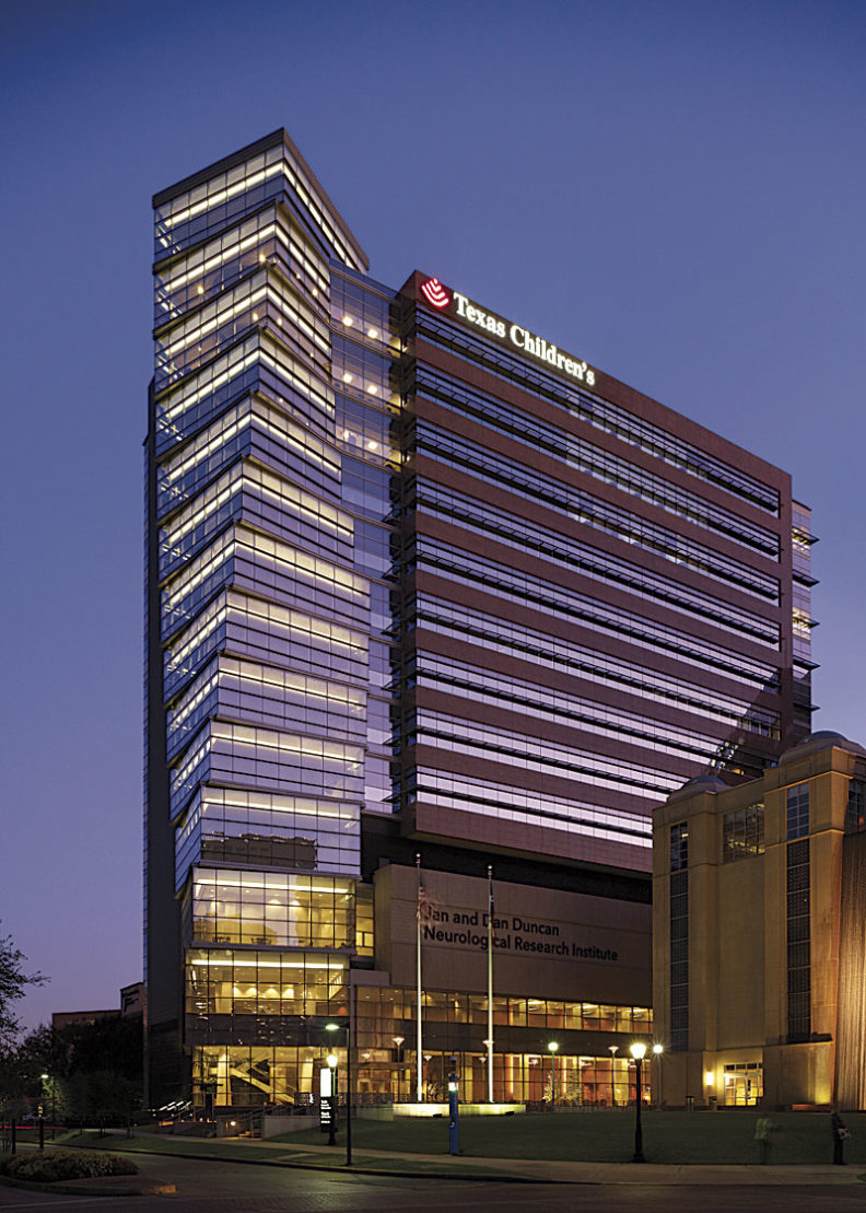 The Jan and Dan Duncan Neurological Research Institute at Texas Children's Hospital