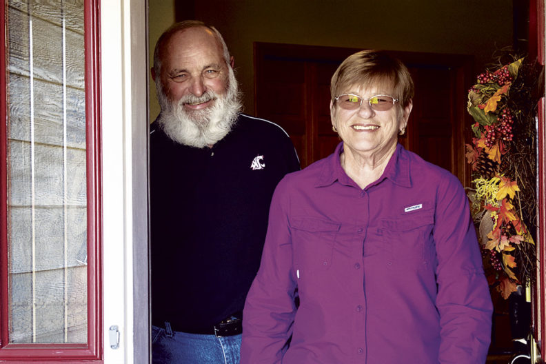 Linda and Jim Bauer