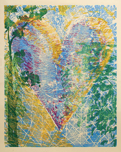 Lakeside, print by Jim Dine