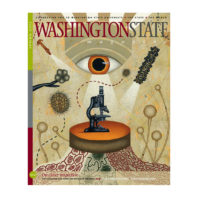 Cover of Spring 2012 issue of Washington State Magazine