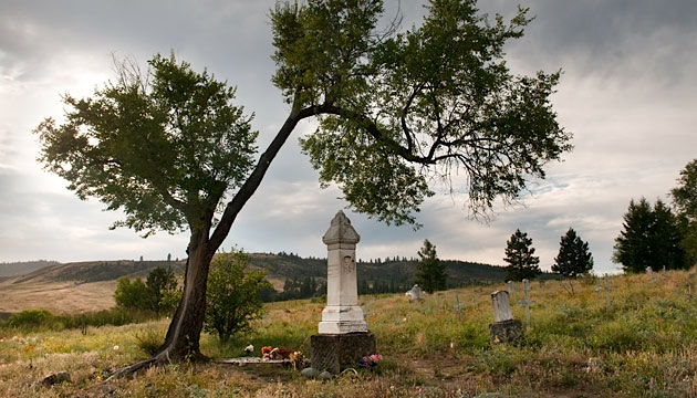 Chief Joseph of the Nez Perce's grave in Nespelem