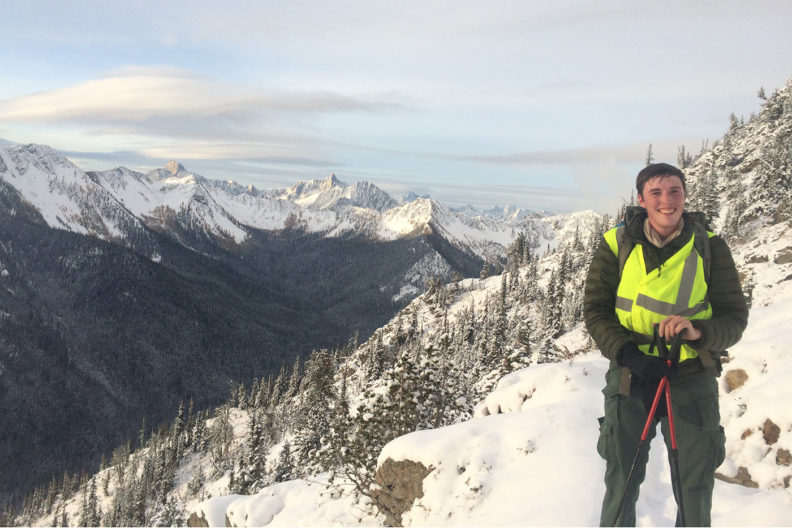 Travis King in the North Cascades