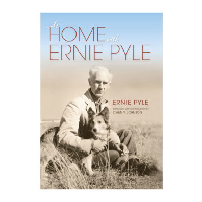 Cover of At Home with Ernie Pyle