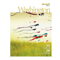 cover of Spring 2018 issue of Washington State Magazine