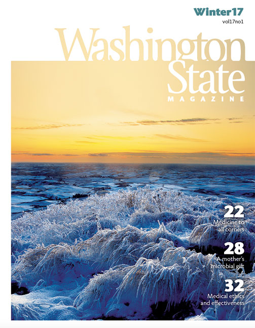 Cover - Washington State Magazine winter 2017