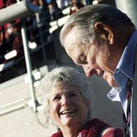 Keith Jackson at WSU Martin Stadium