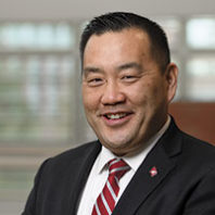 WSU athletic director Pat Chun